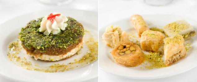 Restaurant Noura Montparnasse Photo Desserts