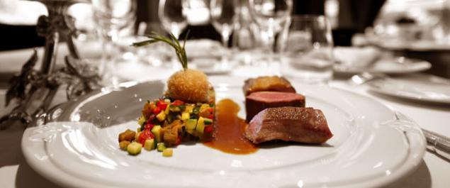 Restaurant Auberge de Fond Rose Photo Plats