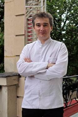 Le Chef David Angelot - Restaurant Cristal Room