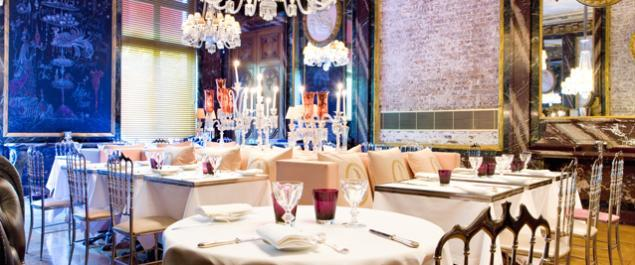 Restaurant Cristal Room Photo Salle Principale