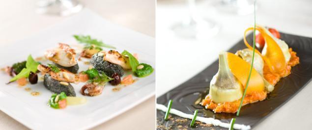Restaurant la romantica par claudio puglia gastronomique for Vaisselle restaurant gastronomique