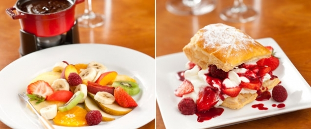 Restaurant Le Chalet de Neuilly Photo Desserts