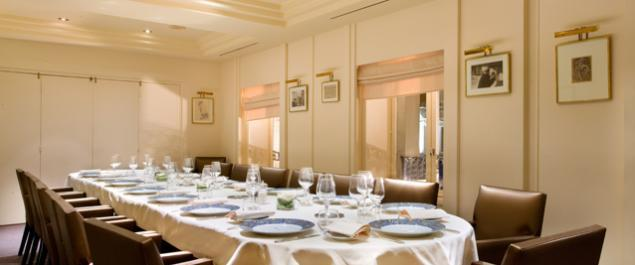 Restaurant Drouant Photo Salon Rodin