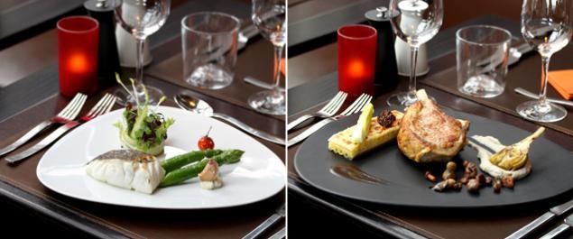 Plat Restaurant Tour Eiffel