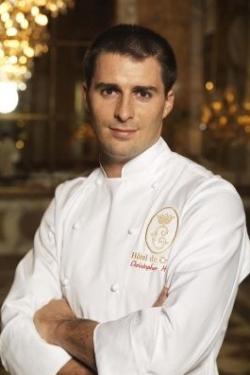 Le Chef Christopher Hache - Restaurant Les Ambassadeurs