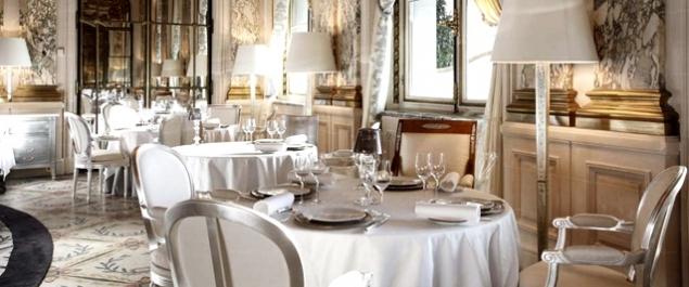 Restaurant Alain Ducasse** (Le Meurice *****) - Paris