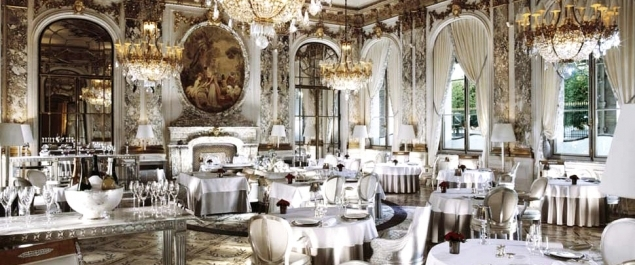 Restaurant Le Meurice - Paris
