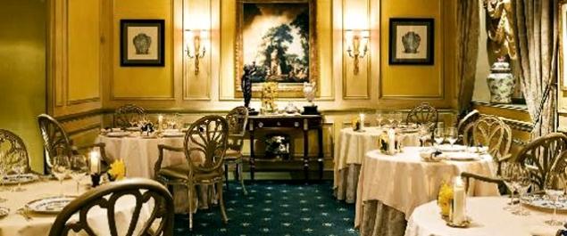 Restaurant Le Céladon - Hôtel Westminster Star restaurant Paris ...