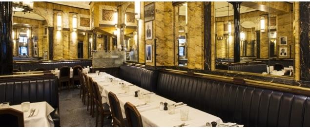 Restaurant Le Vaudeville - Paris