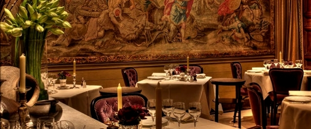 Ресторан l'Ambroisie в Париже - Мишленовские рестораны в Париже