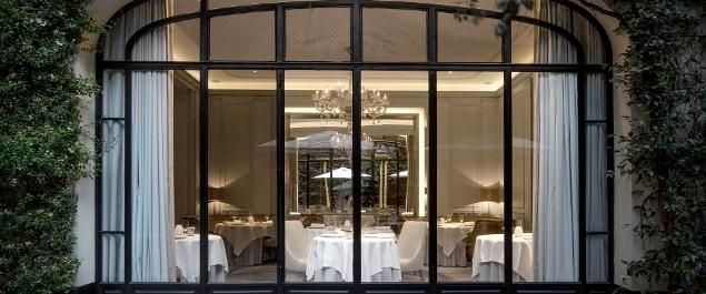 Restaurant Monsieur Restaurant (Hôtel Lancaster Champs Elysées ***** ) - Paris