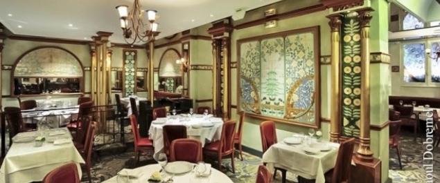Restaurant Fermette Marbeuf - Paris