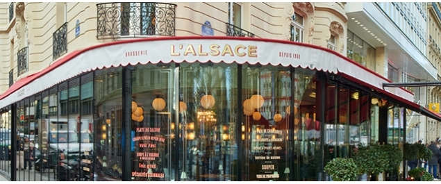 Restaurant L'Alsace - Paris