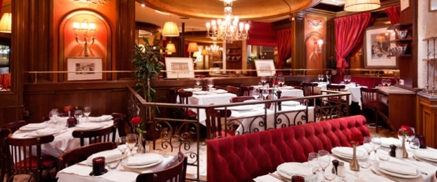 restaurant bistro de melrose traditionnel paris paris 17 me. Black Bedroom Furniture Sets. Home Design Ideas