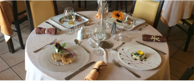 Restaurant le jardin gourmand traditionnel amb rieux d for Restaurant le jardin gourmand craponne
