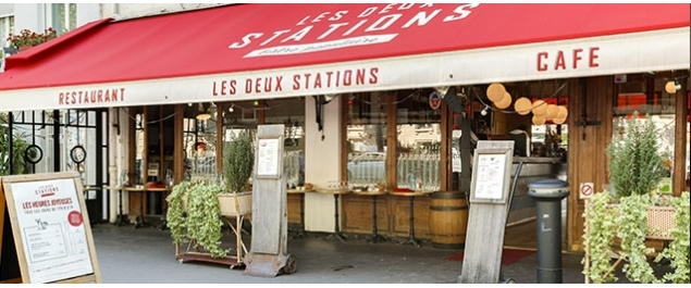 Restaurant Les Deux Stations - Paris