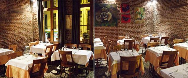 Restaurant le lion bossu traditionnel lille for Restaurant a laille