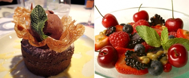 Restaurant La Fontaine aux Perles Photo Desserts