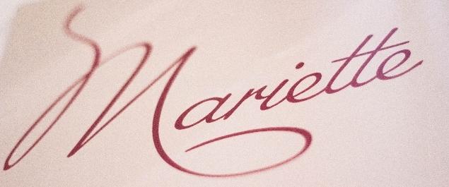 Restaurant Mariette - Paris
