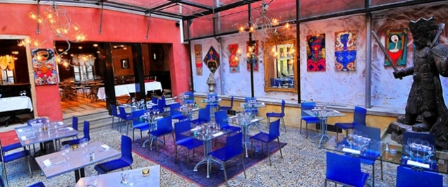 Restaurant La Tour Rose Photo Terrasse