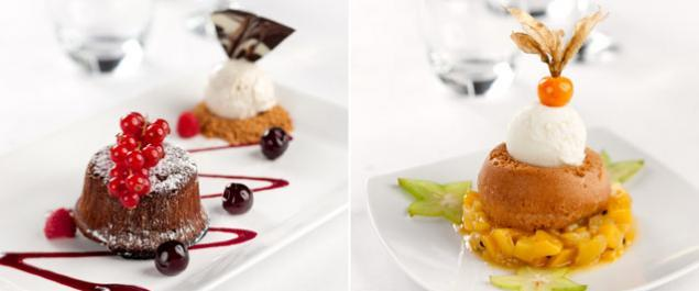 Restaurant Salon sur l'eau Photo Desserts
