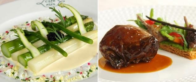 Restaurant caf de la paix gourmet cuisine paris paris 9 me for Gourmet en cuisine