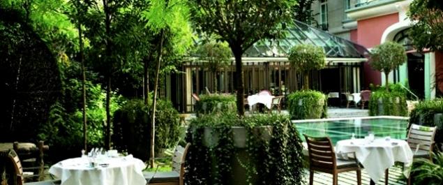 Restaurant il carpaccio royal monceau paris haute for Restaurant le jardin royal monceau