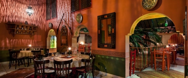 Restaurant Riad Nejma Photo Salon Jemaâ El Fna
