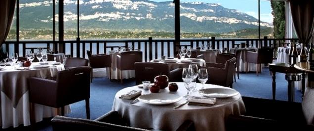 Restaurant Le Bateau Ivre- Hôtel Ombremont - Le Bourget-du-Lac
