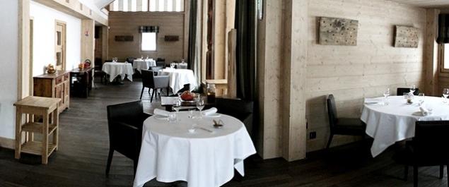 Restaurant Flocons de Sel - Megève
