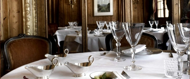 Restaurant Pierre Gagnaire pour Les Airelles - Courchevel