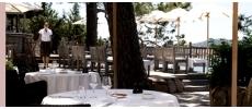 Restaurant La Table (Grand Hôtel de Cala Rossa****) Haute gastronomie Porto-Vecchio