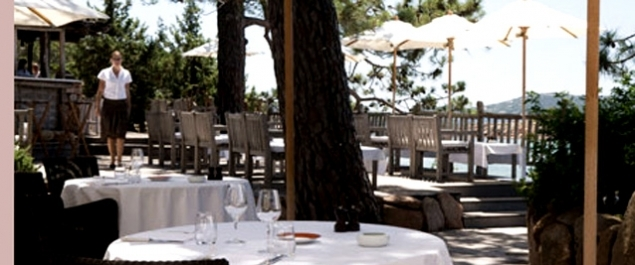 Restaurant La Table (Grand Hôtel de Cala Rossa****) - Porto-Vecchio