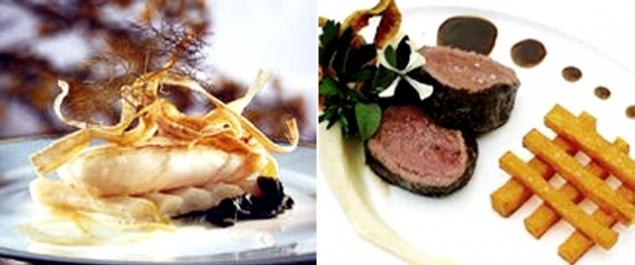 Restaurant la ville blanche – Conception carte électronique cours