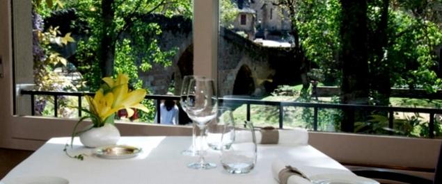 Restaurant Le Restaurant (Hôtel du Vieux Pont***) - Belcastel