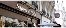 Restaurant Sapori d'Italia Italien Paris