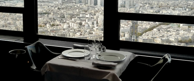restaurant le ciel de paris gastronomique paris paris 15 me. Black Bedroom Furniture Sets. Home Design Ideas