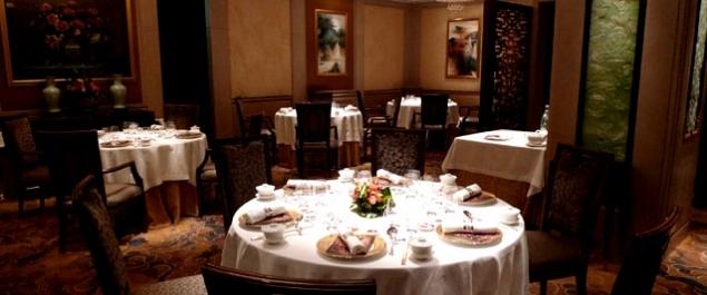 Restaurant Shang Palace (Shangri-La *****) - Paris