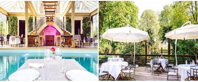 Restaurant Les Jardins d'Epicure - Bray et Lu