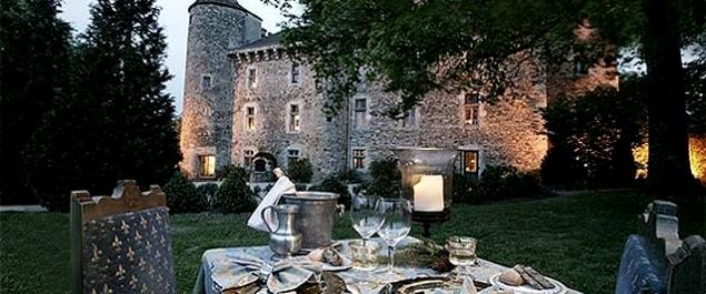 Restaurant La Tour du Château (Château de Codignat*****) - Bort-l'Étang