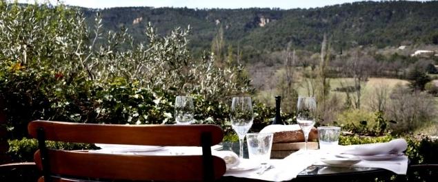 Restaurant La Bastide de Moustiers Haute gastronomie Moustiers ...