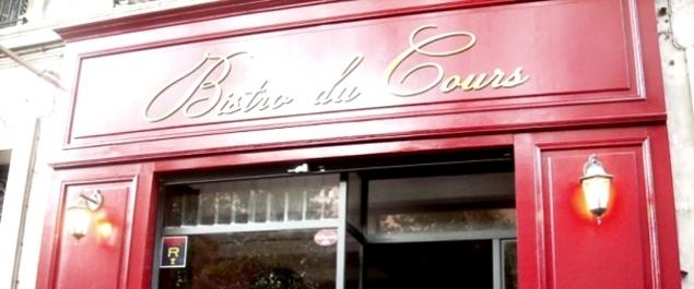 Restaurant Bistro du Cours - Marseille