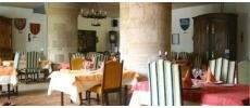 Le Restaurant de l'Hostellerie du Château de Bricquebec Traditionnel Bricquebec