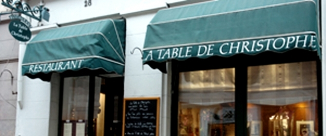 Restaurant La table de Christophe