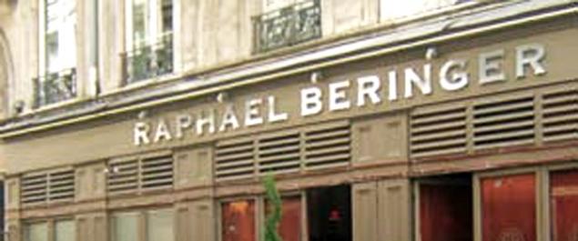 Restaurant Raphaël Beringer - Lyon