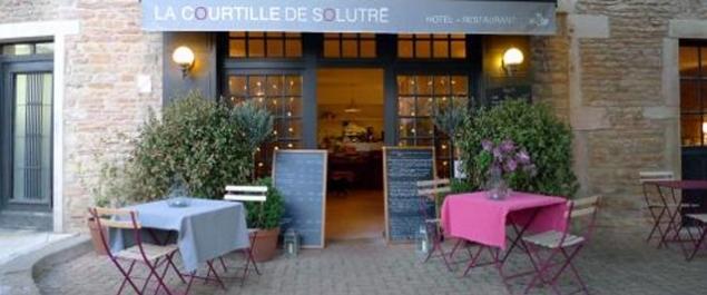 Restaurant La Courtille de Solutré - Solutré-Pouilly