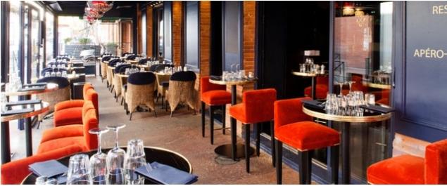 restaurant la villa trop zienne traditionnel toulouse. Black Bedroom Furniture Sets. Home Design Ideas