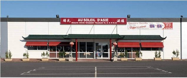 Restaurant Soleil d'Asie - Châtellerault