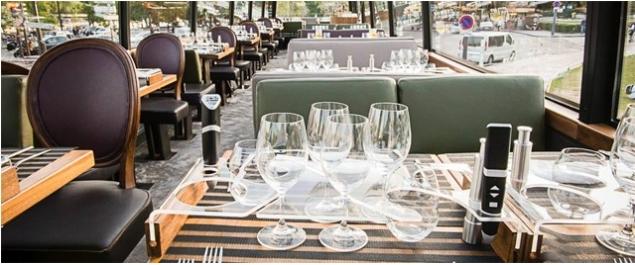 Restaurant Le Bustronome - Paris