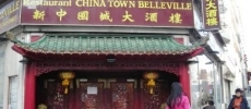 Chinatown Belleville Traditionnel Paris